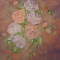 Roses All Aglow by Carrie Mayotte