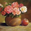 Roses And Apple by Han Choi - Printscapes