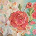 Roses And Flowers by Linda Watson