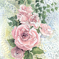 Roses And Lace by Lois Mountz