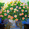 Roses At Table Bay by Michael Durst