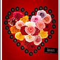Roses For My Dear Love by Lisa Knechtel