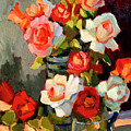 Roses From My Garden by Diane McClary