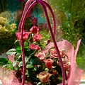 Roses Gift Bag by Joan-Violet Stretch
