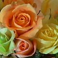 Roses In Pastel by Nancie DeMellia