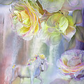 Roses In The Mist by Carol Cavalaris