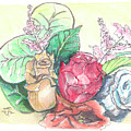 Roses On A Birthday by Yana Sadykova