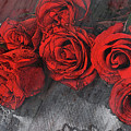 Roses On Lace by Bonnie Willis