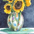 Rose's Sunflowers by Jane Loveall