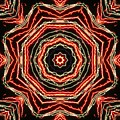 Rosette Fireburst by M E Cieplinski