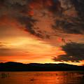 Rosevelt Sunrise by Randy Oberg