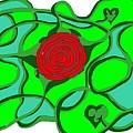 Roseybud by Adam Norman