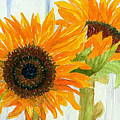 Rosezella's Sunflowers by Anne Marie Brown