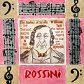 Rossini Portrait by Paul Helm
