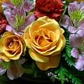Rosy Bouquet by Carolyn Jacob