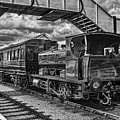 Rosyth No 1 At Furnace Sidings Mono by Steve Purnell