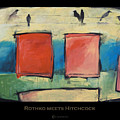 Rothko Meets Hitchcock - Poster by Tim Nyberg
