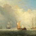 Rotterdam Ferry-boat by William Turner