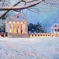 Rotunda On A Snowy Night by Edward Thomas