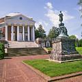 Rotunda, University Of Virginia by Buddy Mays