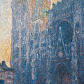 Rouen Cathedral, The Portal, Morning by Claude Monet