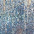 Rouen Cathedral, The Portal, Morning Light by Claude Monet