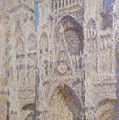 Rouen Cathedral, The Portal, Sunlight by Claude Monet