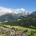 Rougemont Village In Switzerland by Didier Marti