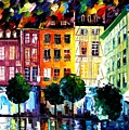 Rouin France by Leonid Afremov