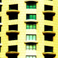 Round Balconies by Isaac Silman