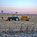 Round Baler by Bonfire Photography
