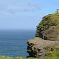Round Stone Tower Refferred To As O'brien's Tower In Ireland by DejaVu Designs