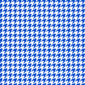 Rounded Houndstooth White Background 18-p0123 by Custom Home Fashions