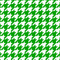 Rounded Houndstooth White Pattern 09-p0123 by Custom Home Fashions