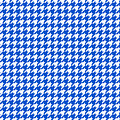 Rounded Houndstooth White Pattern 18-p0123 by Custom Home Fashions