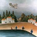 Rousseau: Fishermen, 1908 by Granger