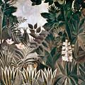 Rousseau: Jungle, 1909 by Granger