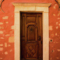 Roussillon Red And Door by Curt Rush