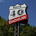 Route 40 Roadhouse by Jeff Roney