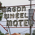 Route 66 - Wagon Wheel Motel by Frank Romeo