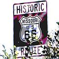 Route 66 2 by Audrey Venute