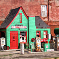 Route 66 Conoco Station Oklahoma by Christopher Arndt