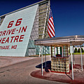 Route 66 Drive In by Patricia Montgomery
