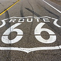 Route 66 Highway Sign by Stevie Benintende