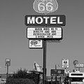 Route 66 Motel  by John McGraw
