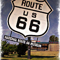 Route 66 Museum - Impressions by Ricky Barnard