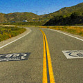 Route 66 National Historic Road by David Zanzinger