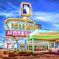 Route 66 Palomino Motel by Christopher Arndt