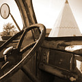 Route 66 - Parking At The Wigwam by Mike McGlothlen