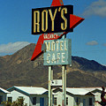 Route 66 - Roy's Of Amboy California 2 by Frank Romeo